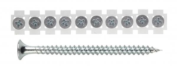 Kipsikruvi metallile lindil