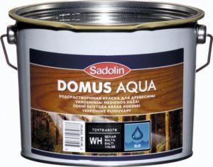 Veepõhine puiduvärv Domus Aqua